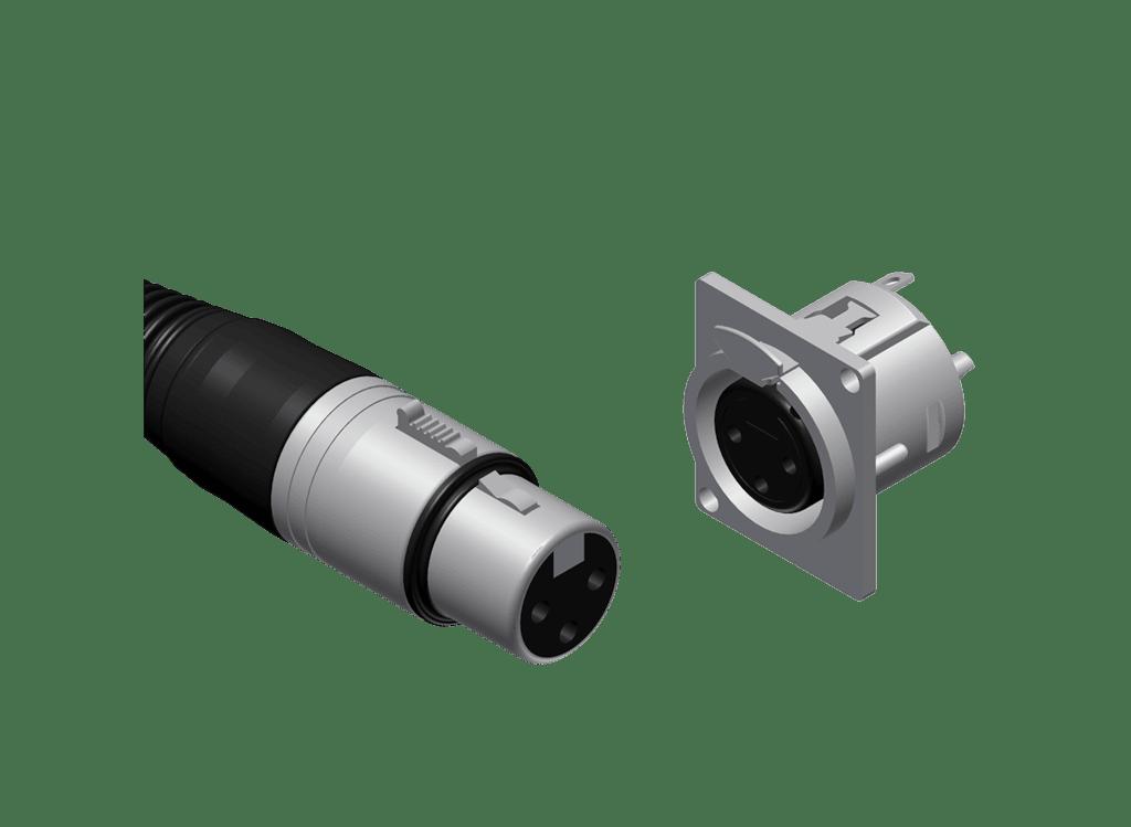XLR connectors -