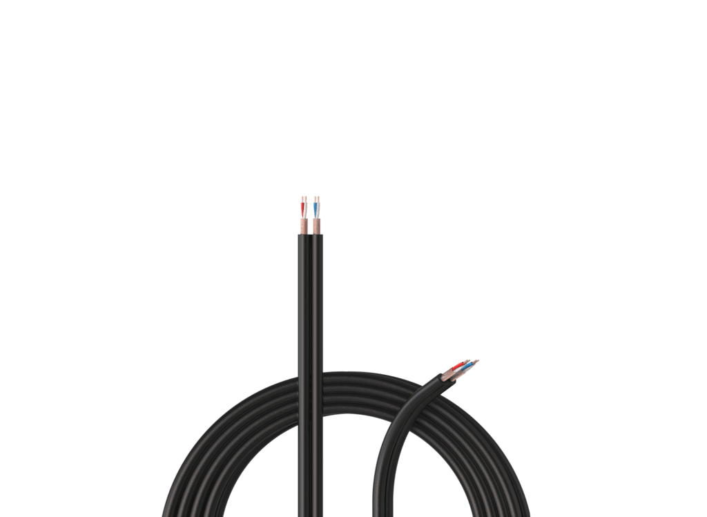 Parallel speaker cables -