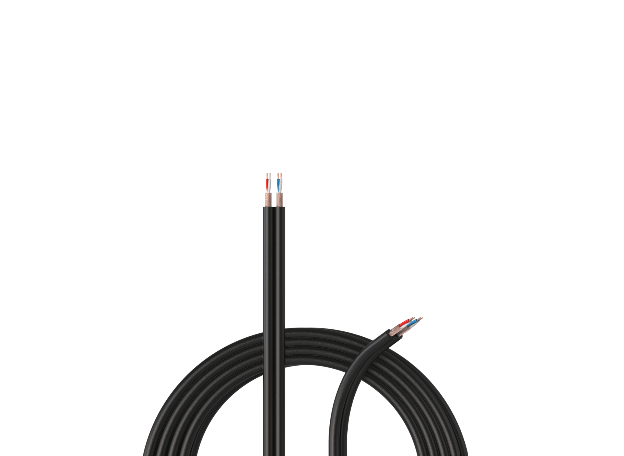 Parallel speaker cables