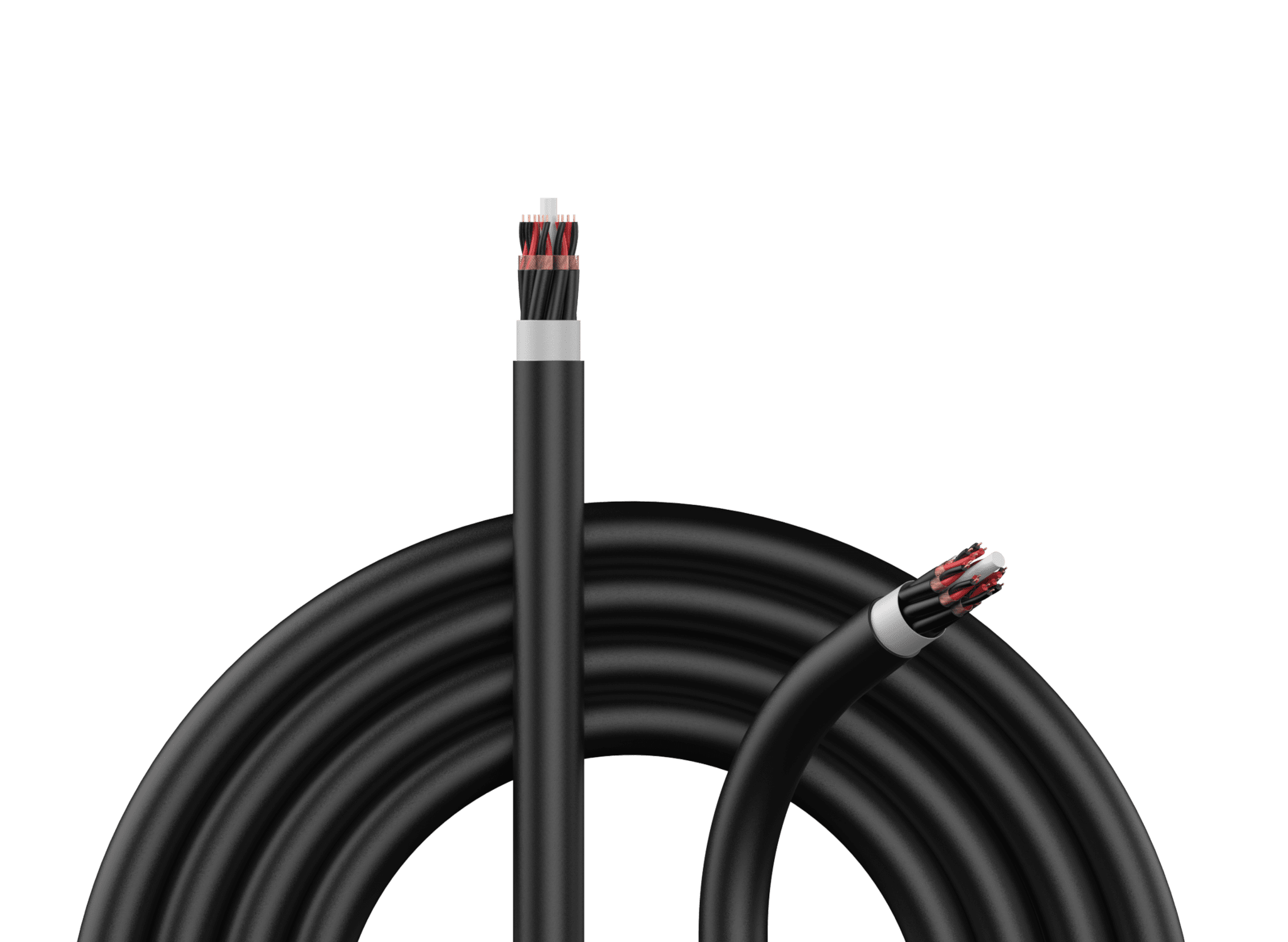 Signal multicore cables