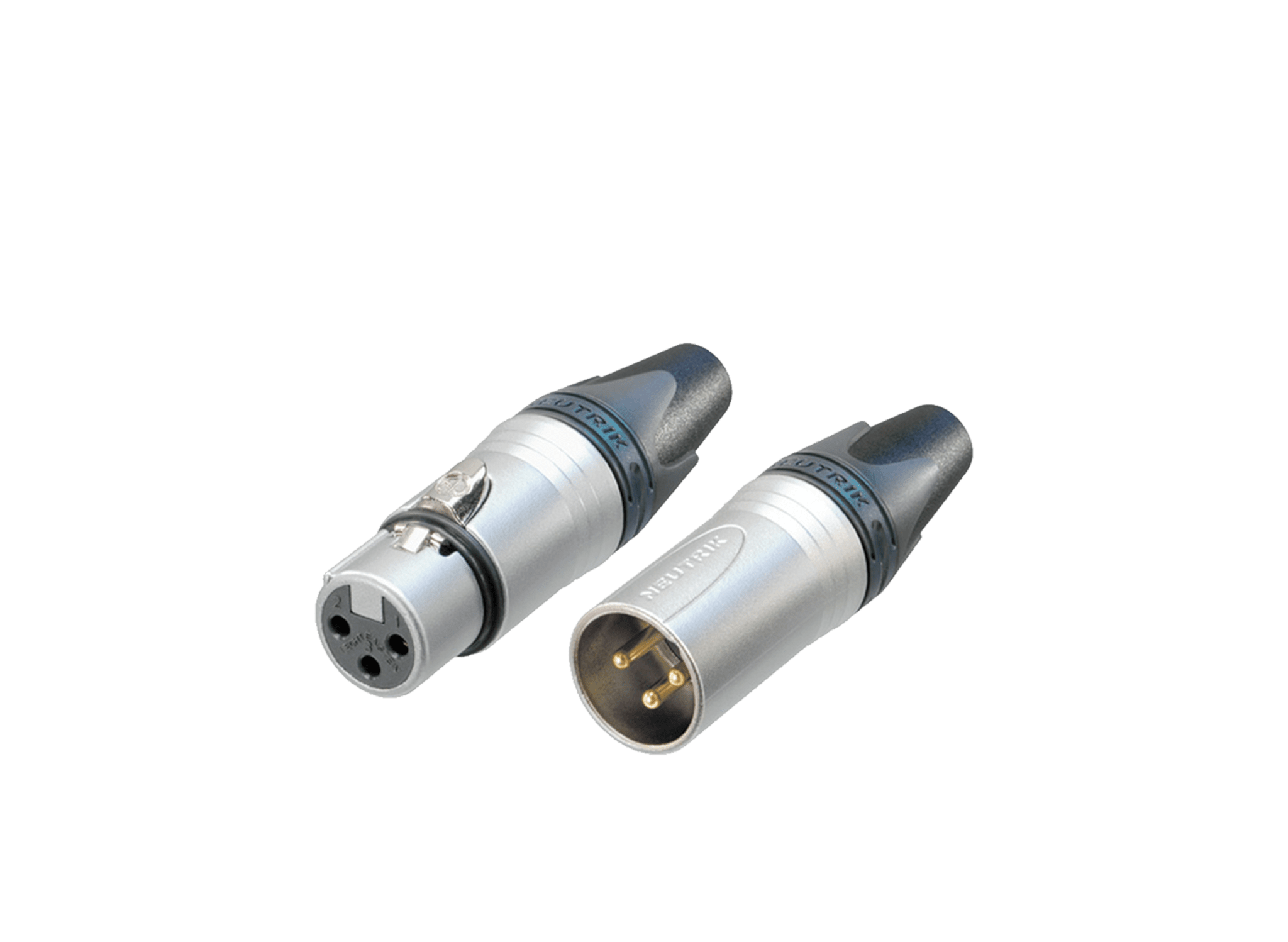 XLR cable connectors -