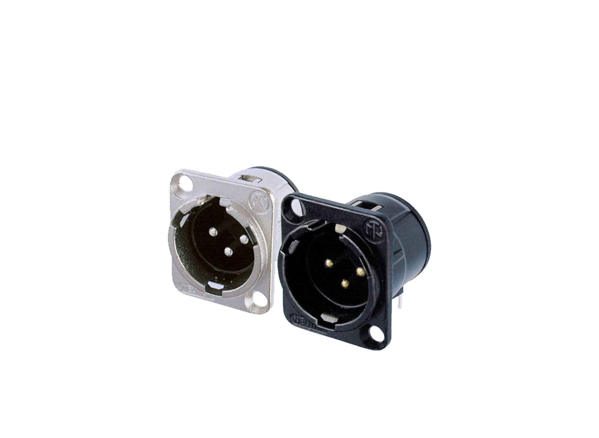 XLR chassis connectors -