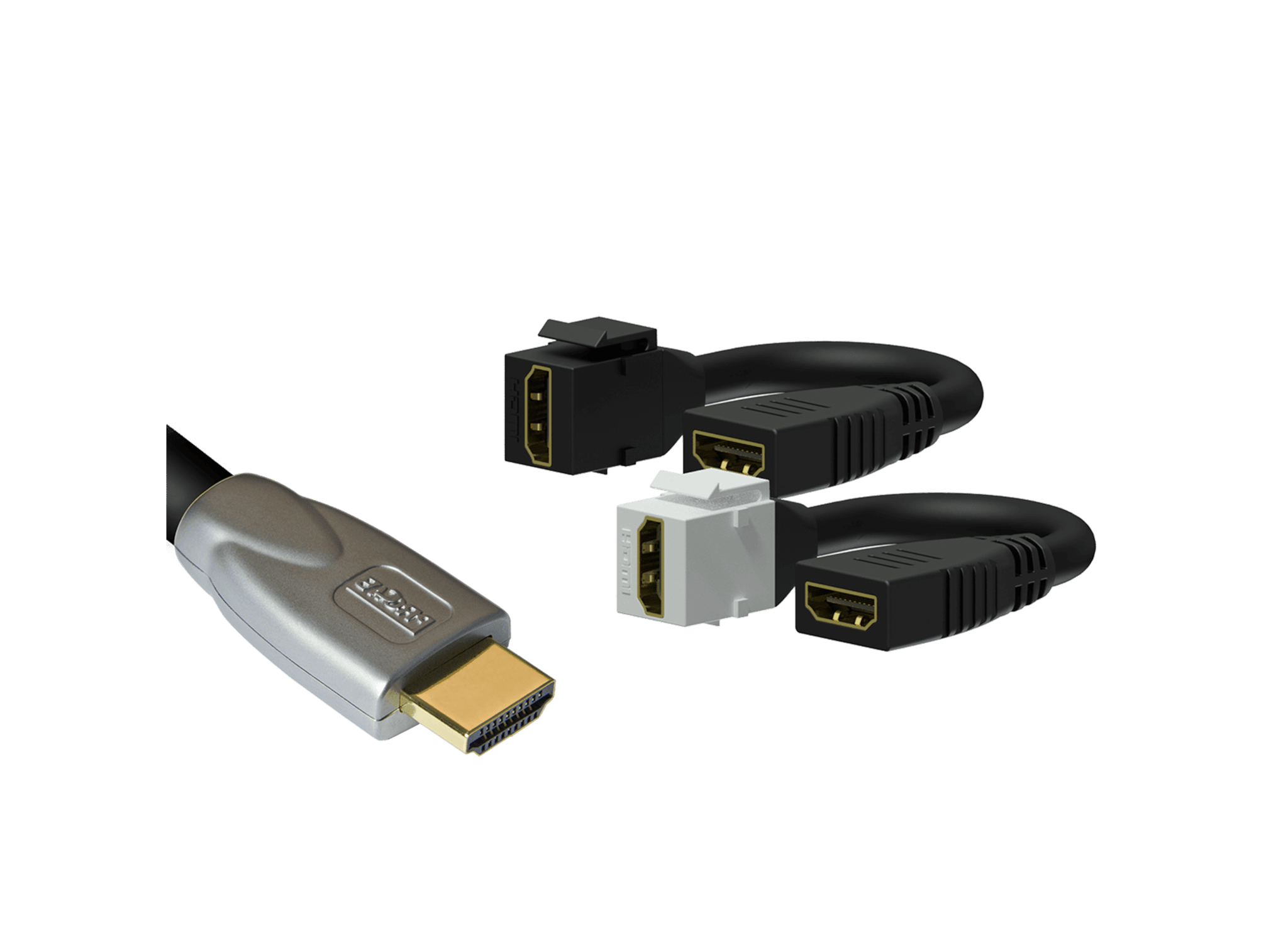 HDMI connectors & adapters -