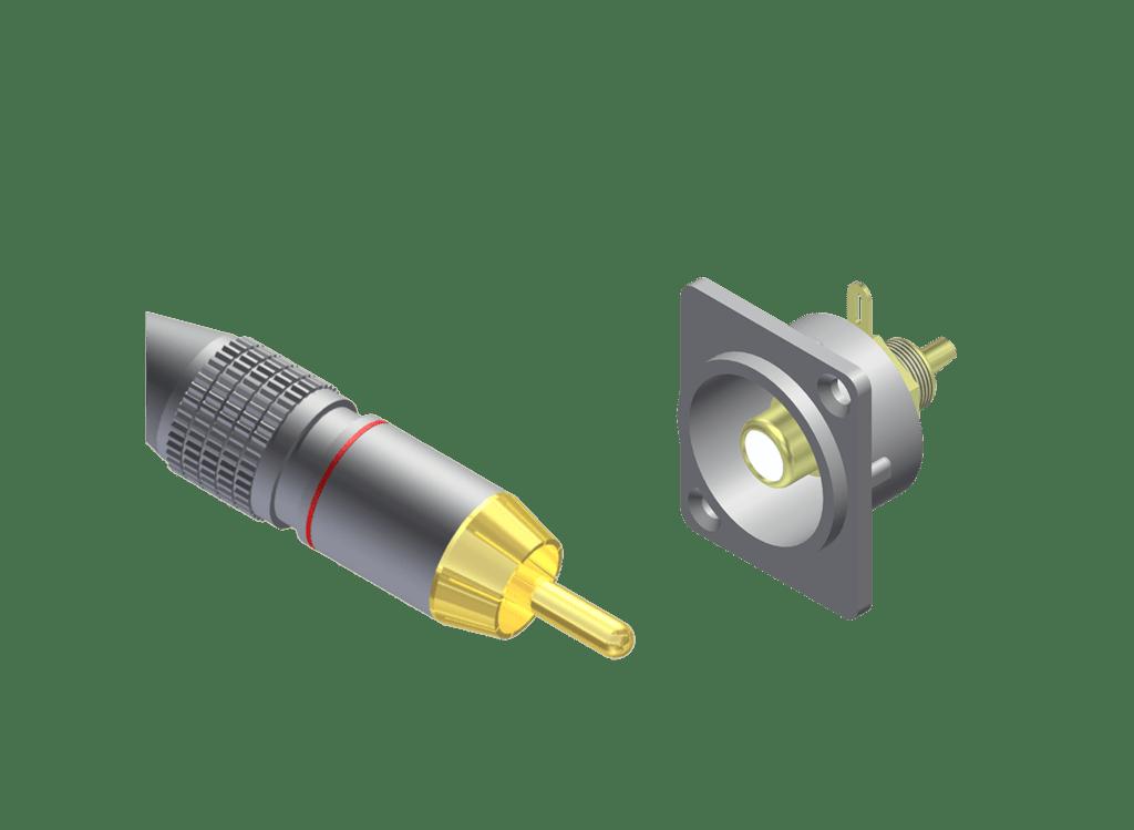 RCA connectors -