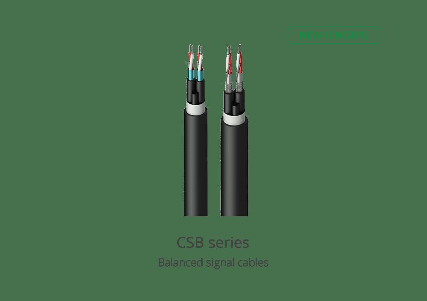 CSB series new lengths