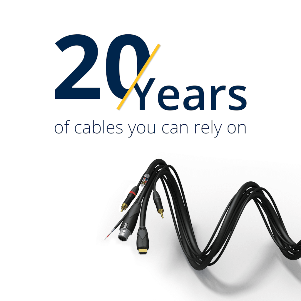 Celebrating 20 Years of PROCAB cables - Ready to embrace all future technologies!