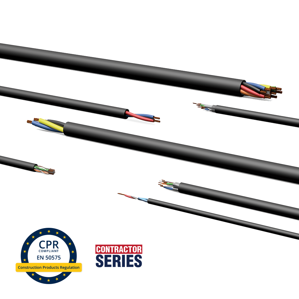 Construction Products Regulation (CPR) - Introducing EN50575 compliant cables
