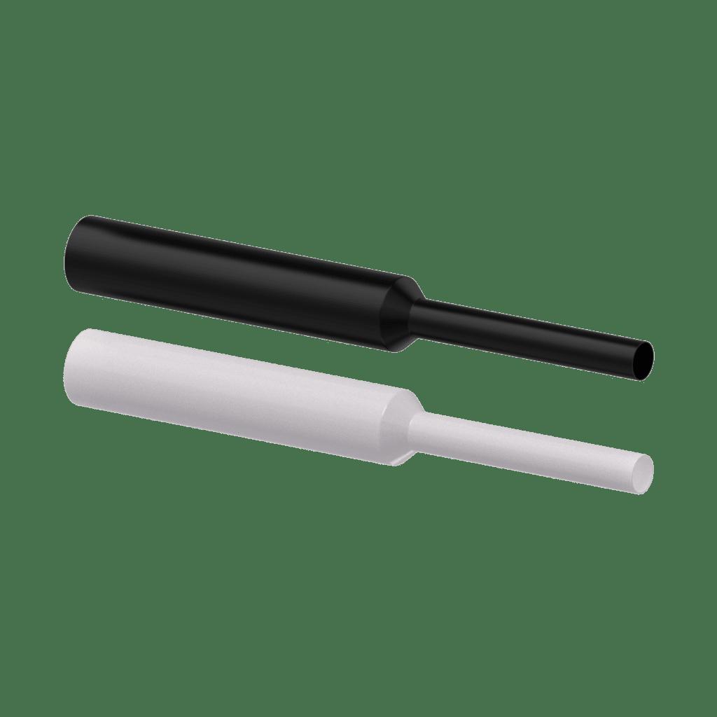 Polyolefin Shrink Sleeve - 10mm - Black - 2:1 - 500mm 20pcs