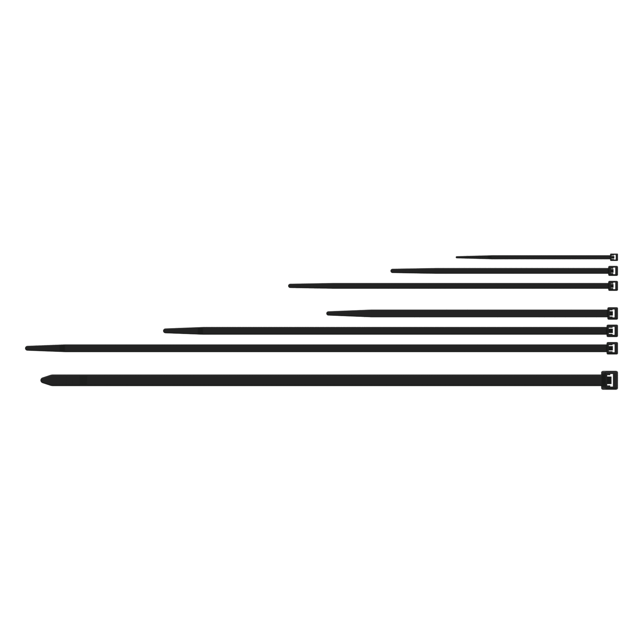 ACT418 - Nylon cable ties - 4.8 x 180 mm