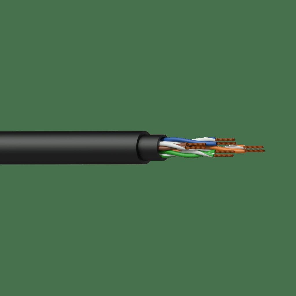 BCT50U - Networking cable - CAT5E - U/UTP - flex 0.22 mm² - 24 AWG - HighFlex™