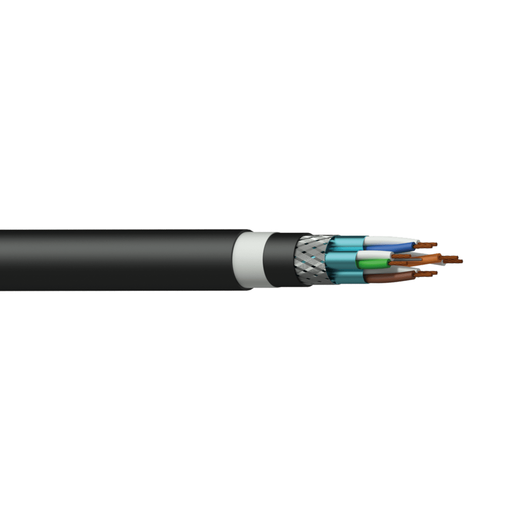 BCT65S - Networking cable - CAT6A - S/FTP - flex 0.22 mm² - 24 AWG HighFlex™