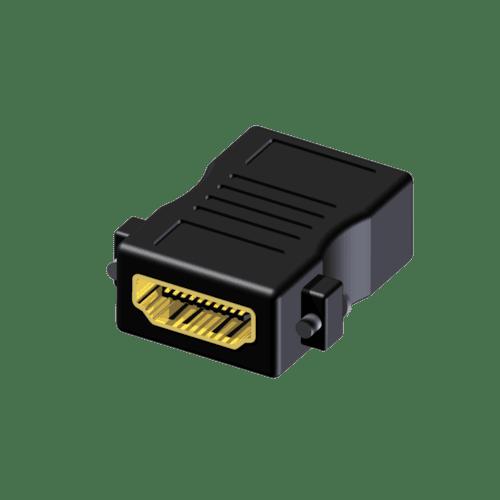 BSP450 - Adapter - HDMI female - HDMI female - Fixscrews