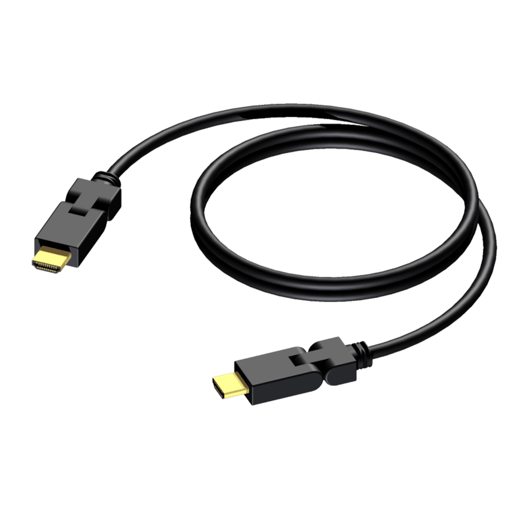 BSV101 - HDMI A male - HDMI A male - swivel connected