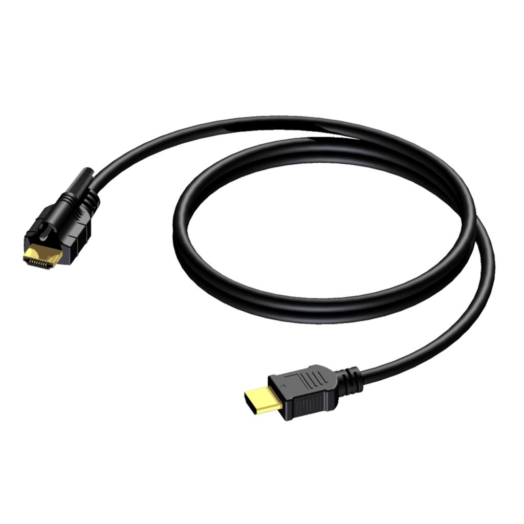 BSV103 - HDMI A male - HDMI A male - single locking