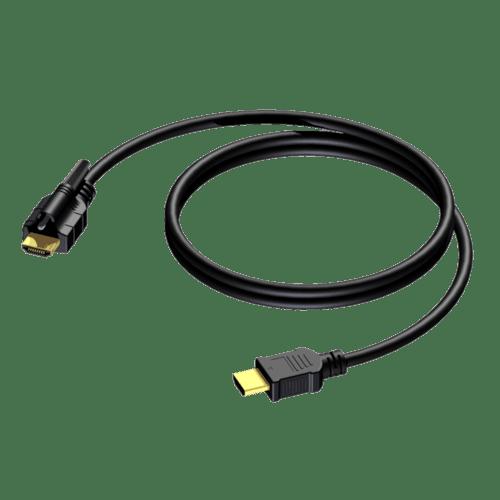 BSV103 - HDMI A male - HDMI A male - single locking