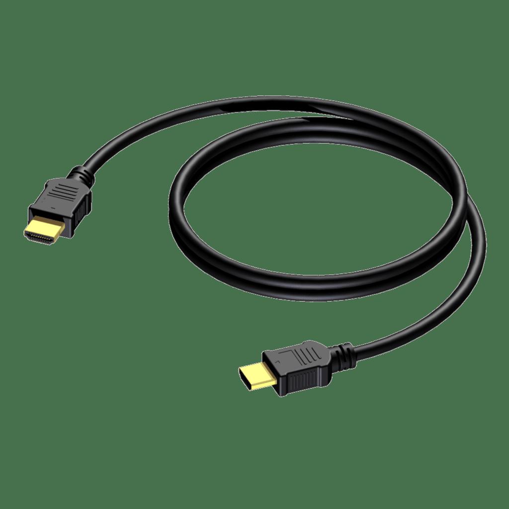 High Speed Hdmi W Ethernet - Hdmi Male A - 30 Awg - 0.5m