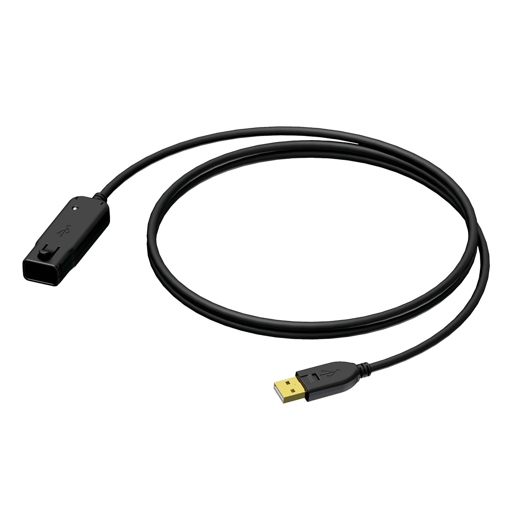 BXD602 - USB A male - USB A female - active repeater cable