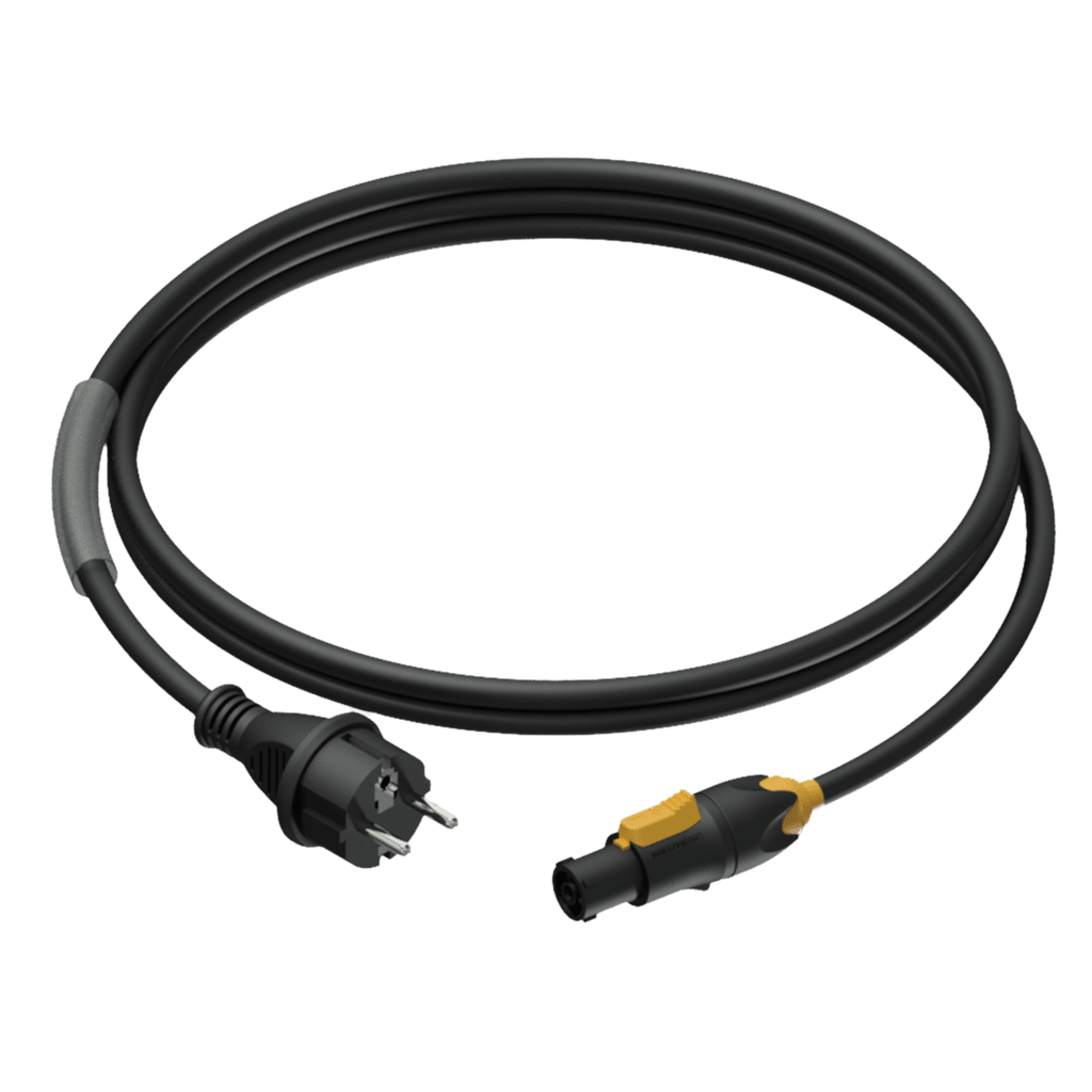 CAB433 - Power cable - schuko male - powerCON TRUE1 female - 3 x 1.5 mm²