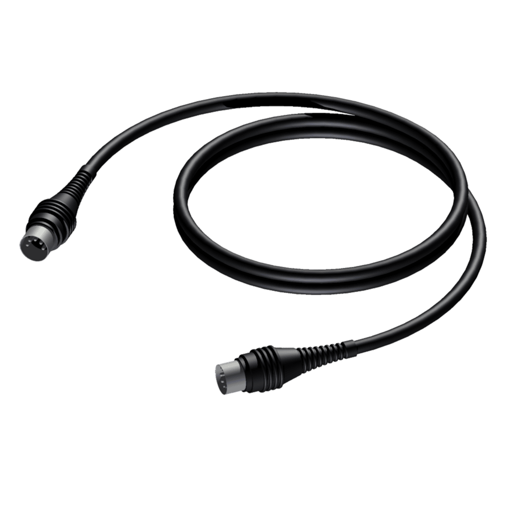 CAM400 - Midi cable - DIN 5 -DIN 5