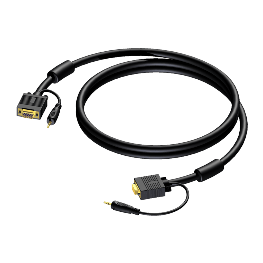 CAV115 - SVGA male & 3.5 mm Jack male stereo - SVGA male & 3.5 mm Jack male stereo
