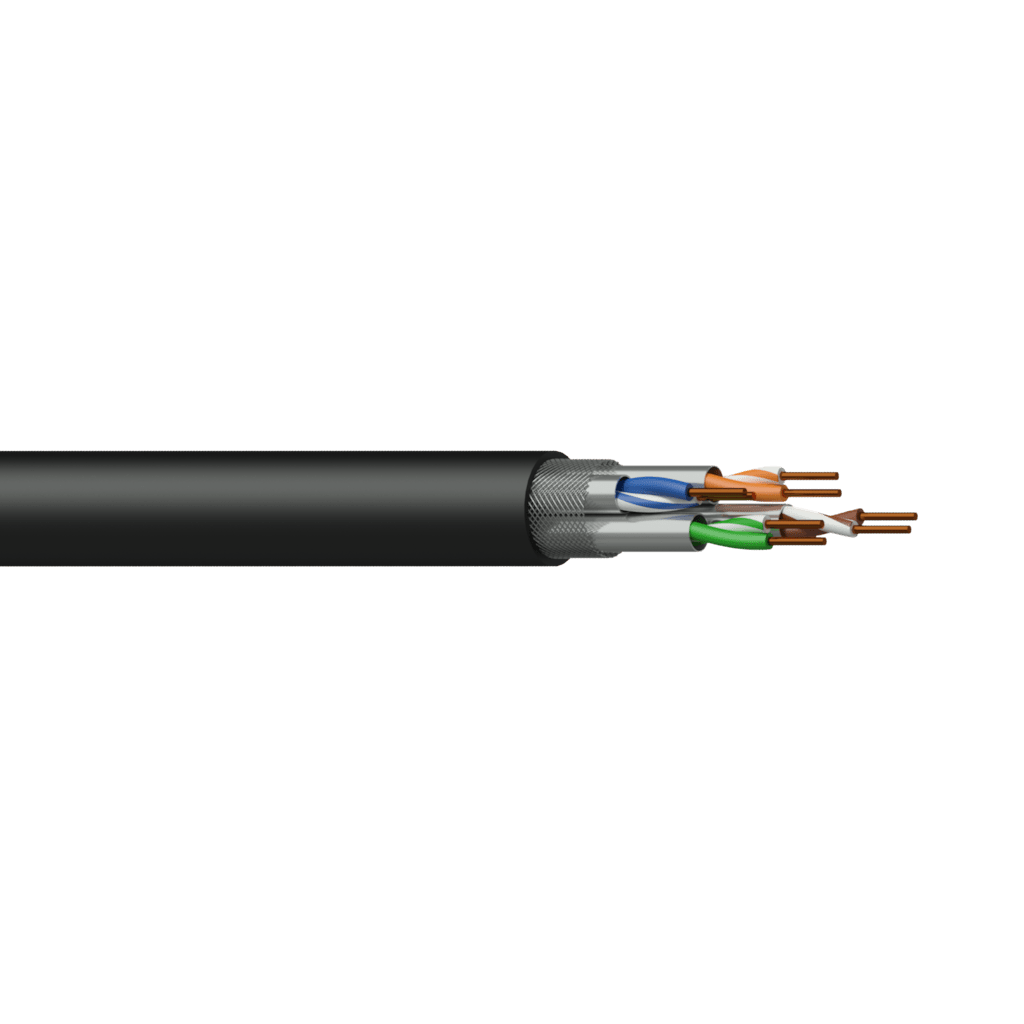 CCT70S - Networking cable - CAT7 - S/FTP - solid 0.25 mm² - 23 AWG - FlamoFlex™