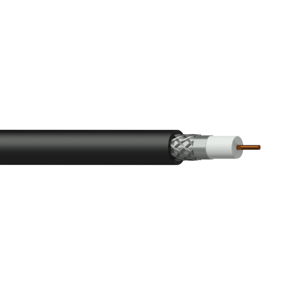 CCX160 - Coax video cable - RG6/U - solid 0.82 mm² - 18 AWG - FlamoFlex™