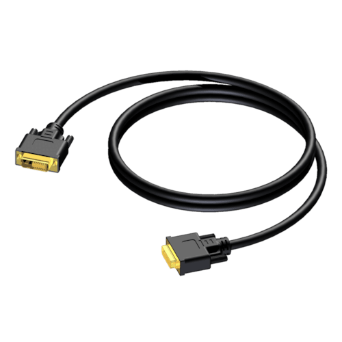 CDV140 - DVI D male - DVI D male - dual link