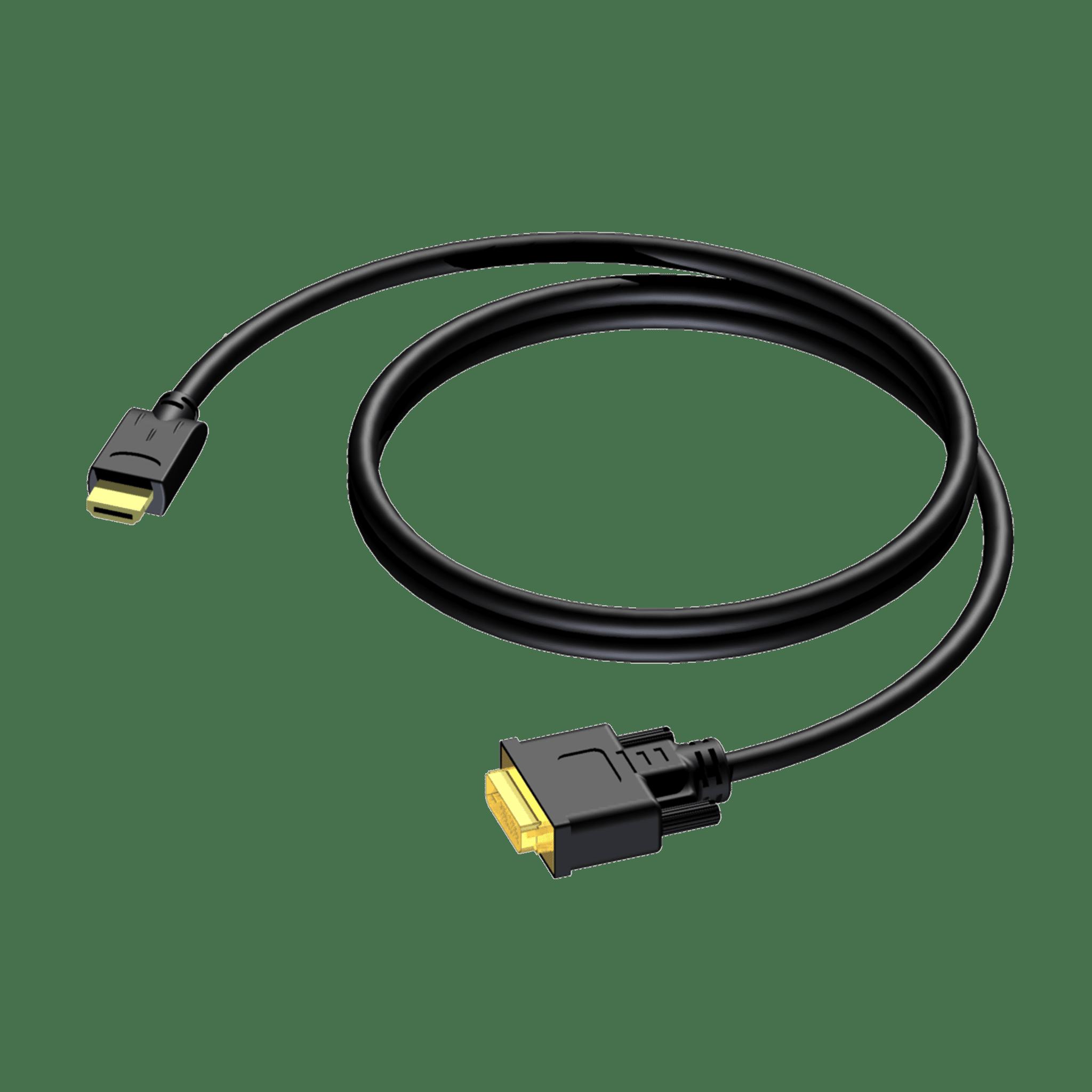 CDV160 - DVI D male - HDMI A male