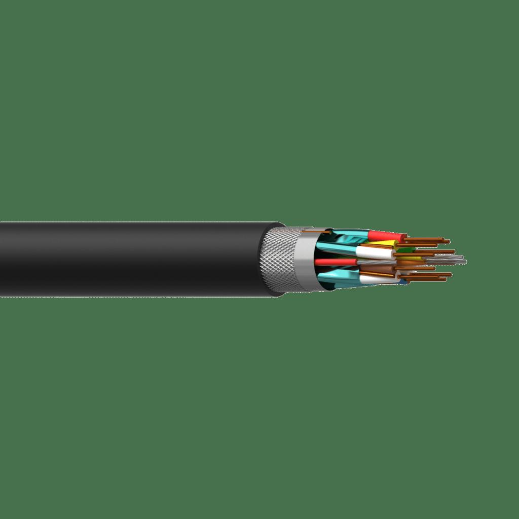 CHD124 - HDMI cable - solid 0.20 mm² - 24 AWG - FlamoFlex™