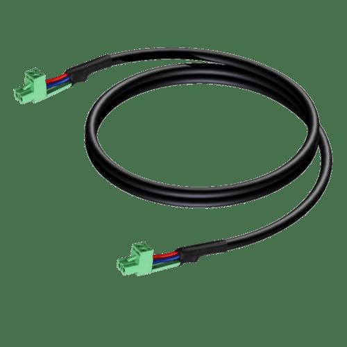 CLA530 - Loudspeaker cable - terminal block - terminal block (2p - 5.08mm)