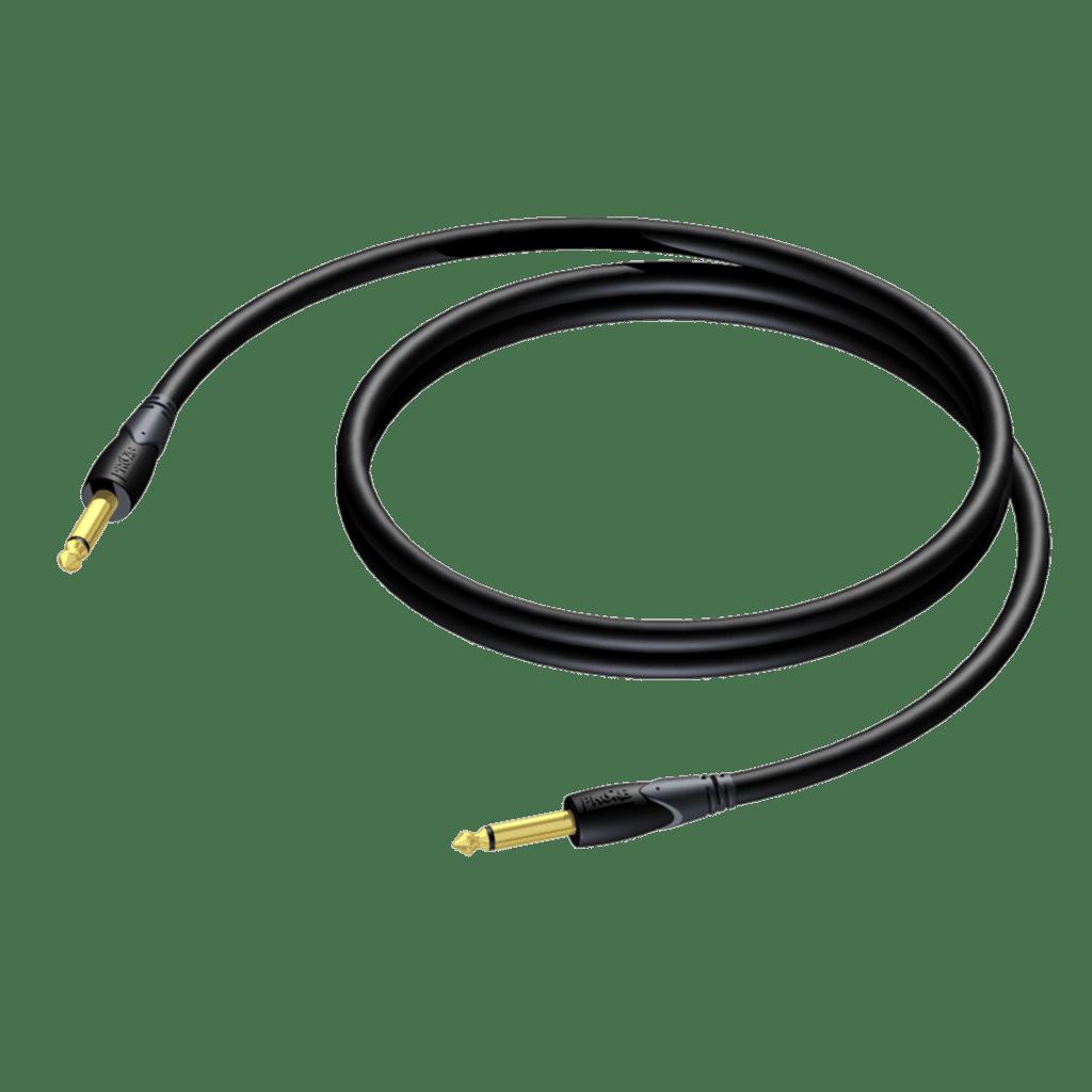 CLA590 - Loudspeaker cable - 6.3 mm Jack male mono - 6.3 mm Jack male mono