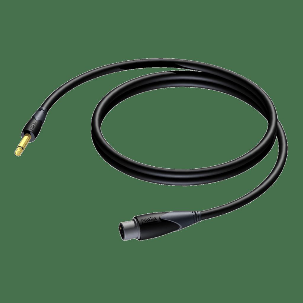 CLA591 - Loudspeaker cable - 6.3 mm Jack male - XLR female