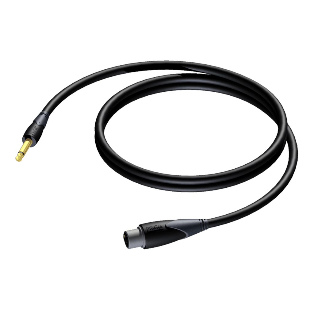 CLA591 - Loudspeaker cable - 6.3 mm Jack male - XLR female