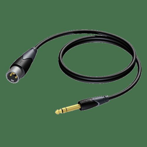 CLA724 - XLR male - 6.3 mm Jack male stereo