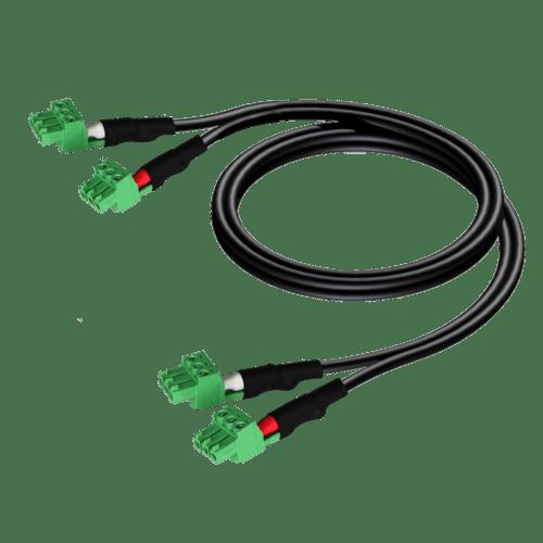 CLA830 - 2 x terminal block - 2 x terminal block (3p - 3.81mm)