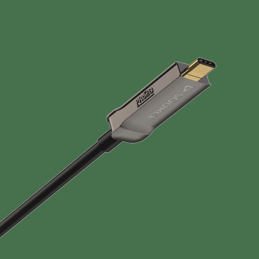 CLD635A - USB Type-C - USB Type-C - Active optical - 4K@60 Hz Displayport 1.2 Alt