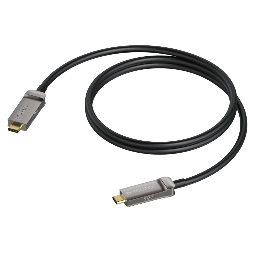 CLD635A - USB Type-C - USB Type-C - Active optical - 4K@60 Hz Displayport 1.2 Alt