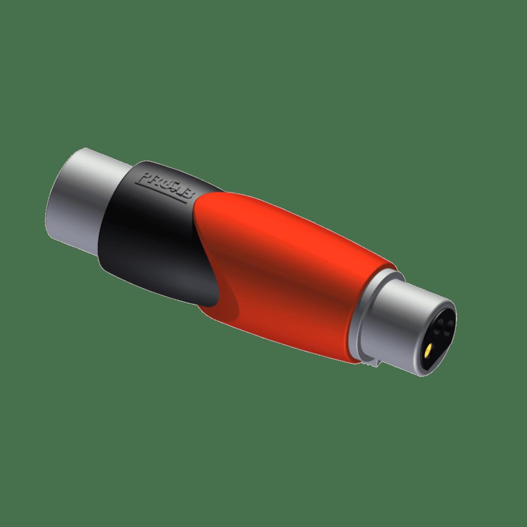 CLP146 - Adapter - XLR male - XLR female - Phase shift