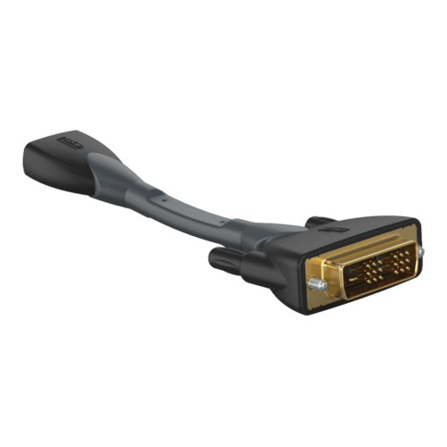 CLP341 - Adapter - HDMI female - DVI male - flexible