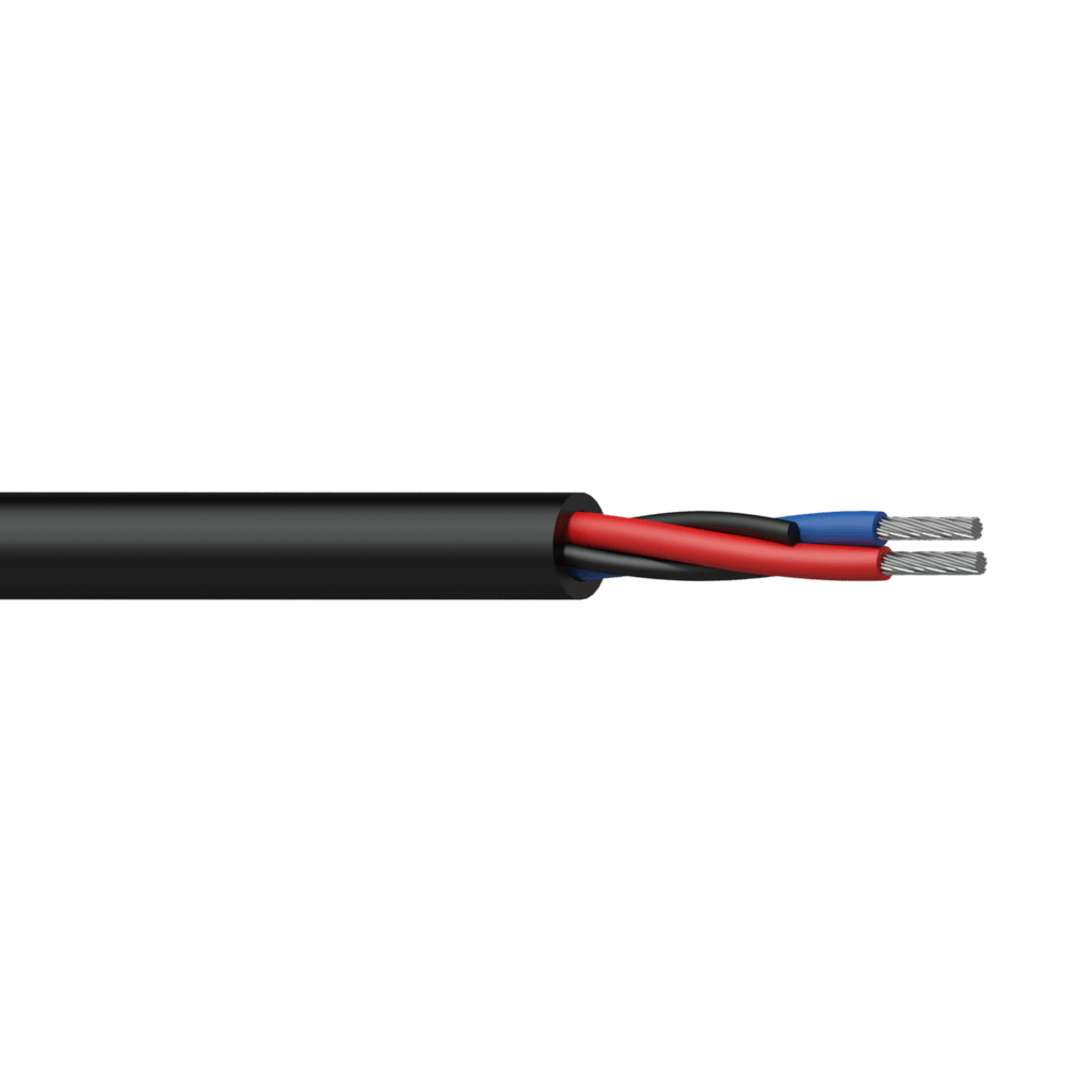 CLS207 - Loudspeaker cable - 2 x 0.75 mm² - 18 AWG - FlamoFlex™