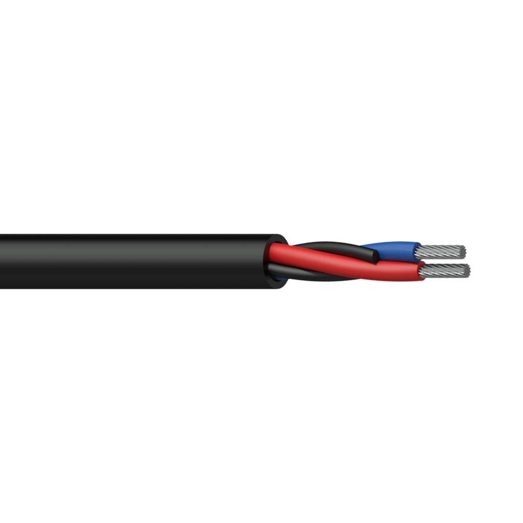 CLS215 - Loudspeaker cable - 2 x 1.5 mm² - 16 AWG - FlamoFlex™