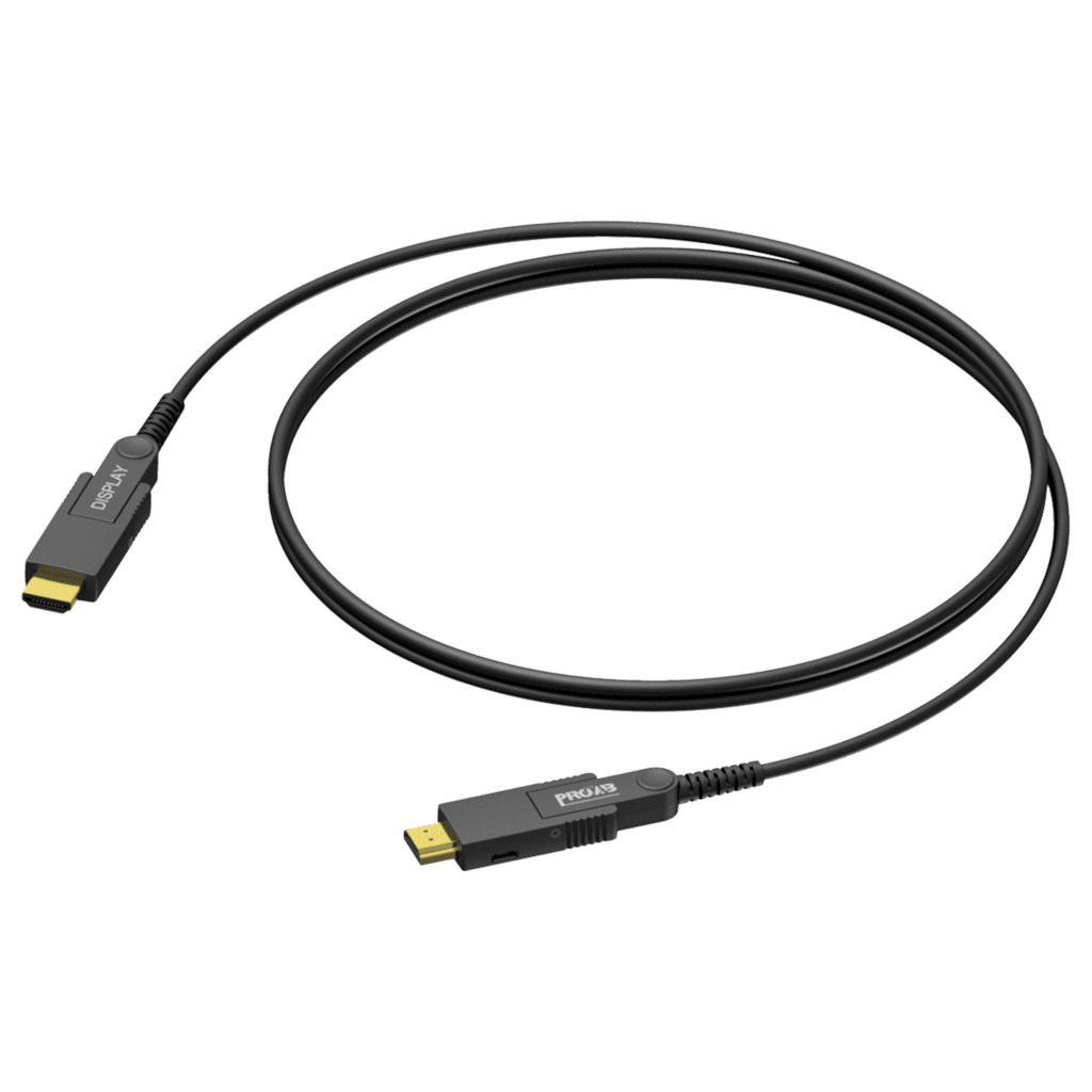 HDMI A male - HDMI A male - Active optical - Interchangeable connectors