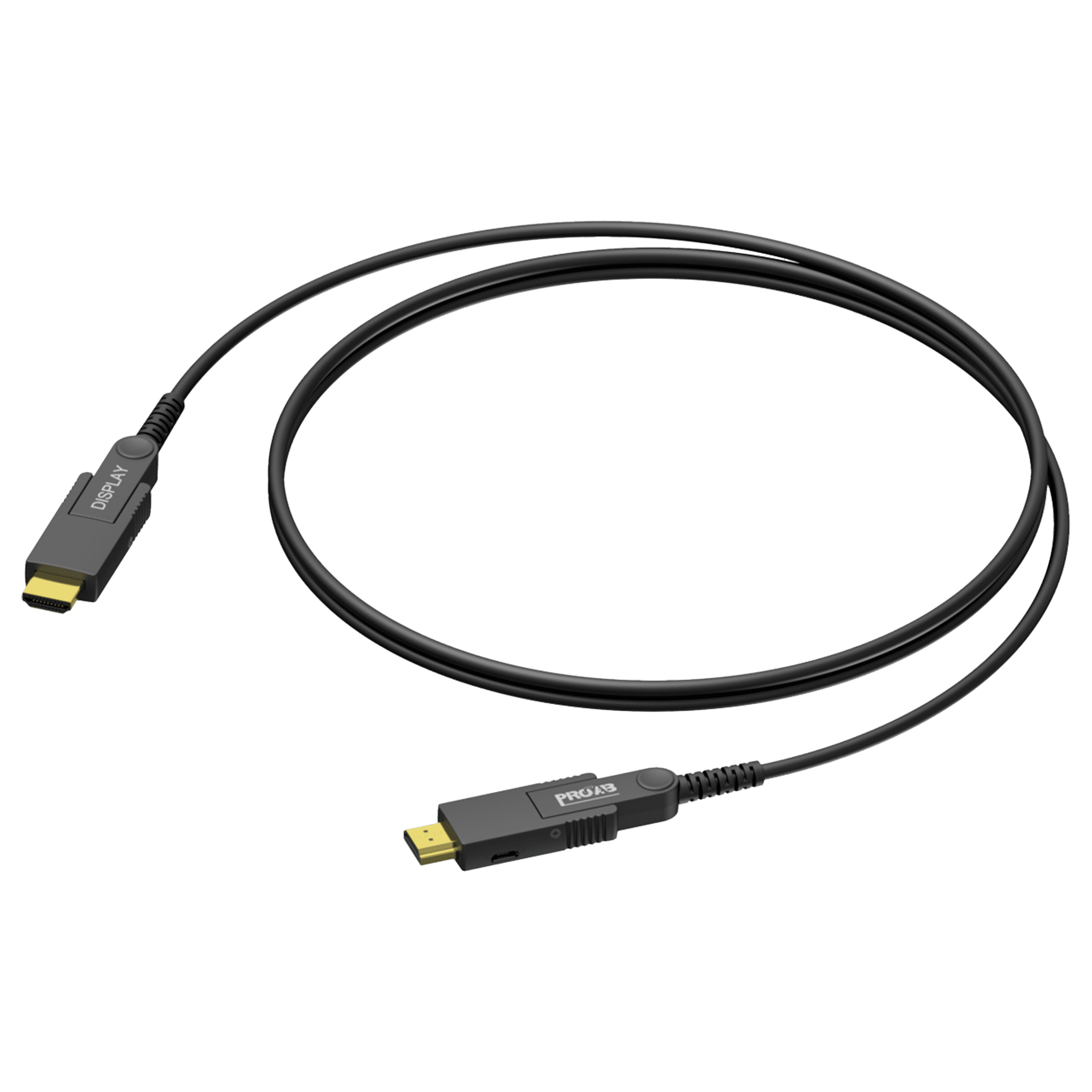 CLV220A - HDMI A male - HDMI A male - Active optical - Interchangeable connectors