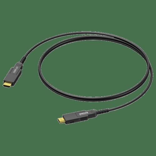 CLV220A - HDMI A male - HDMI A male - Active optical - Interchangeable connectors