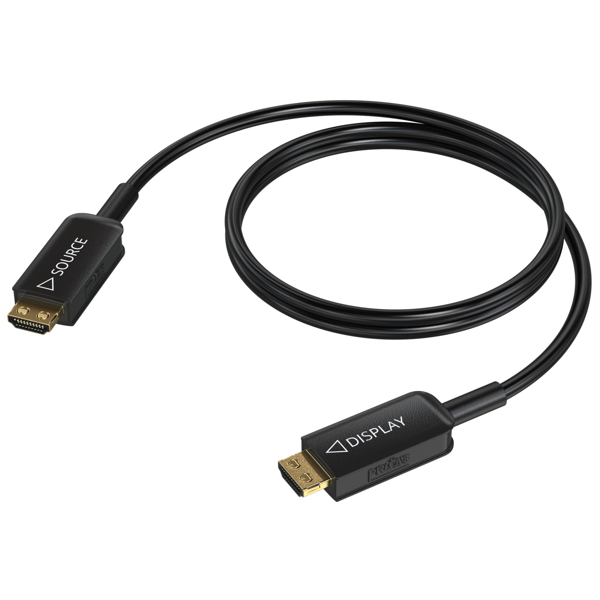 CLV310A - HDMI 2.1 Active optical cable – HDMI A male - HDMI A male - HighFlex™