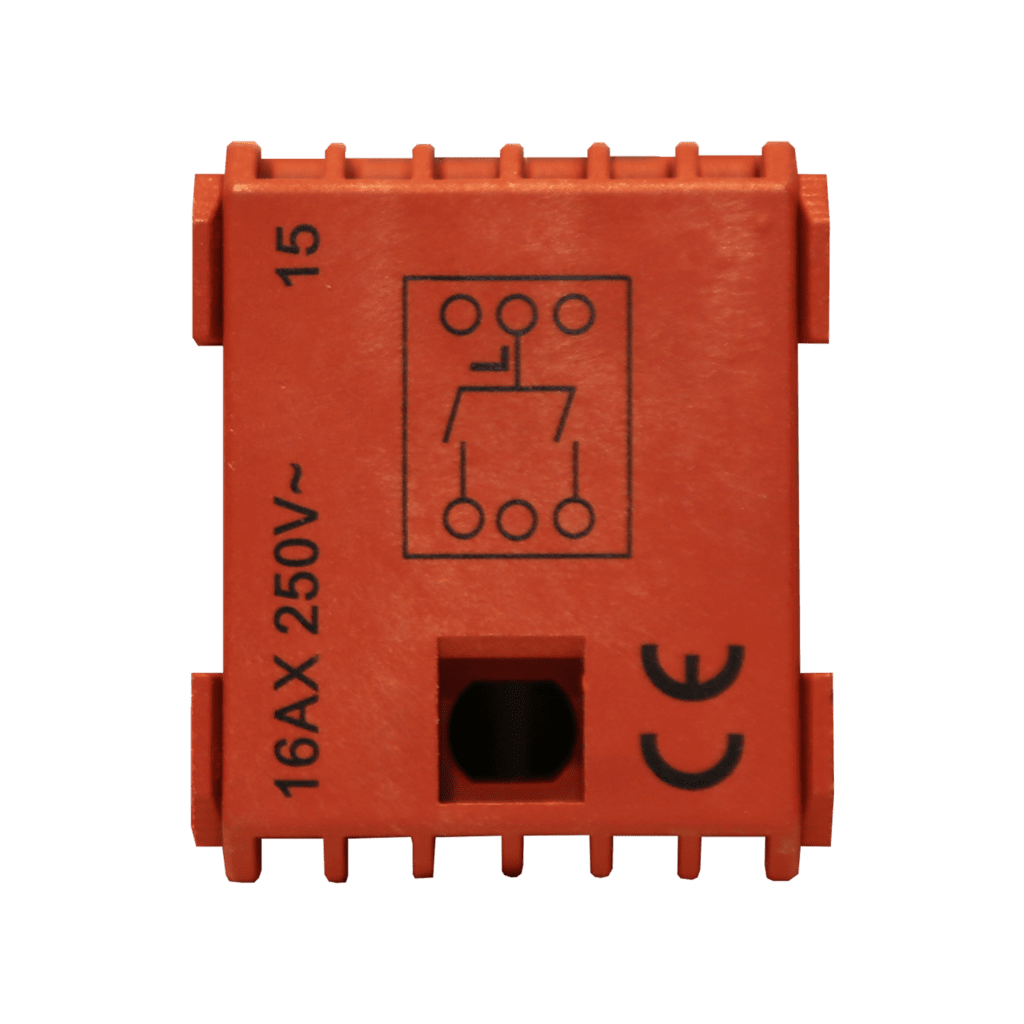 CP45SM2 - Switch module - 2 gang momentary contact