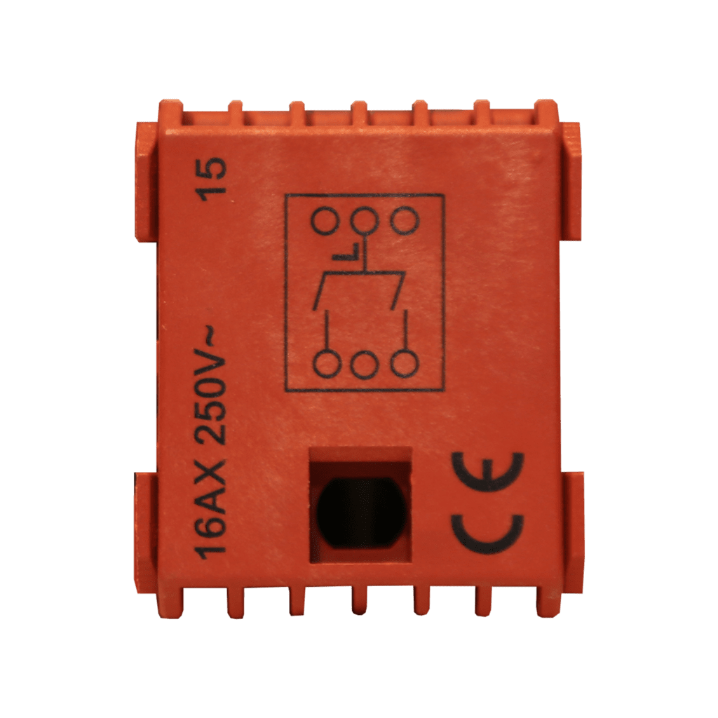 CP45SP2 - Switch module - 2 gang permanent double pole switch contact