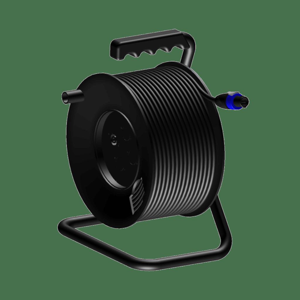 CRM225 - Cable reel - loudspeaker cable - 2-pin speakON