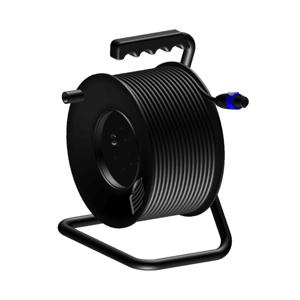 CRM225 - Cable reel - loudspeaker cable - 2-pin speakON