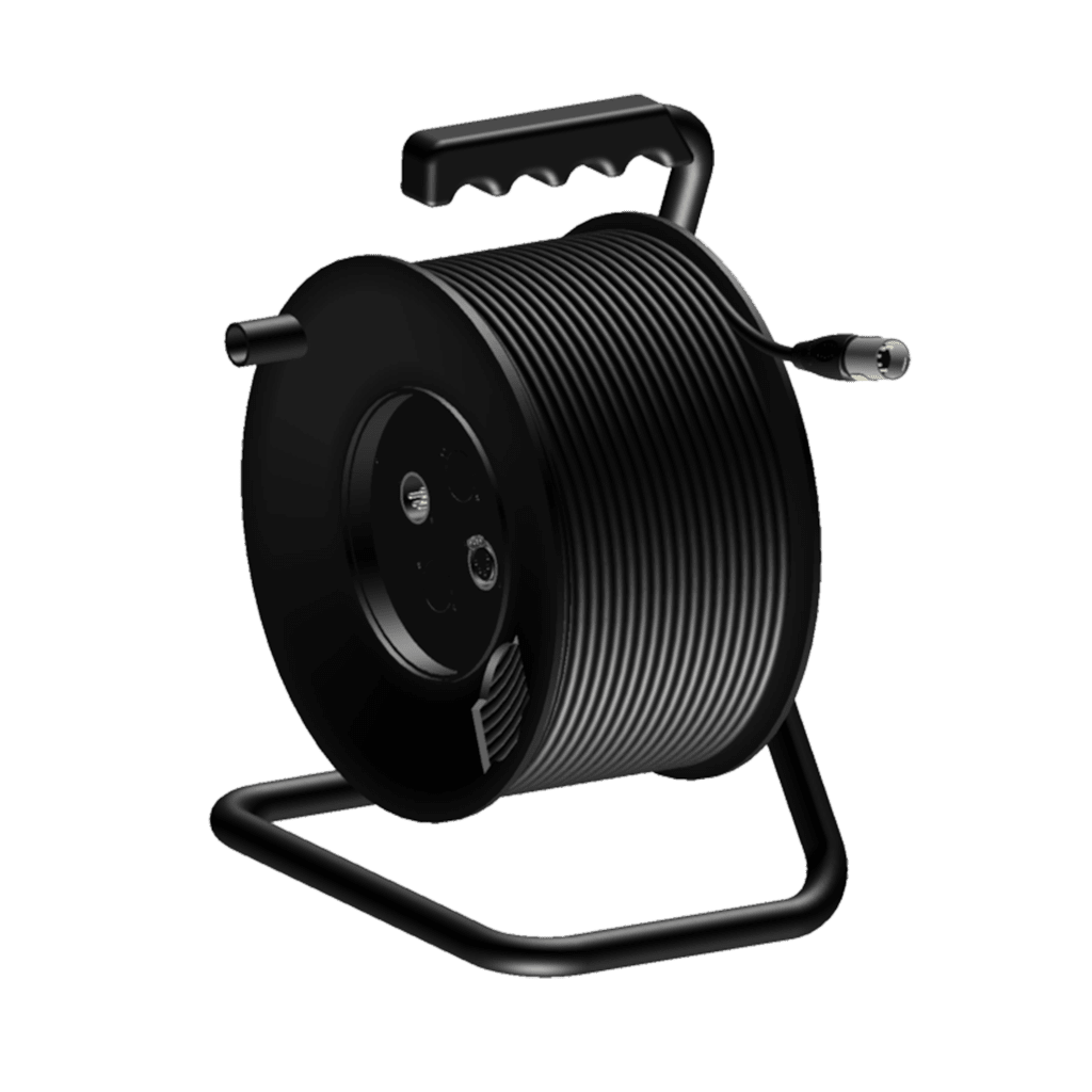 CRM550 - Cable reel - DMX AES - XLR male & female - XLR male